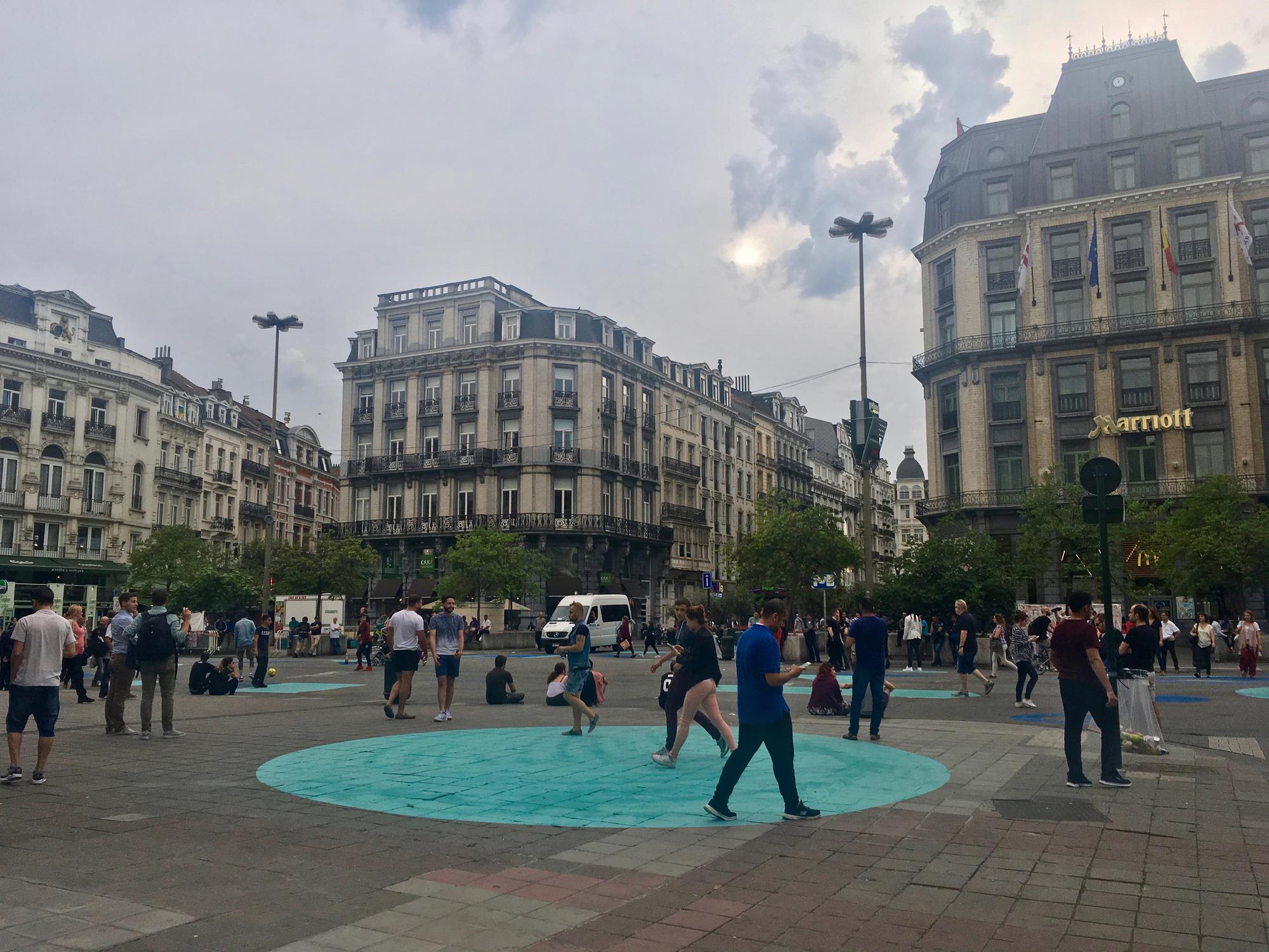 🇧🇪 Брюссель, Бельгия, июль 2017.