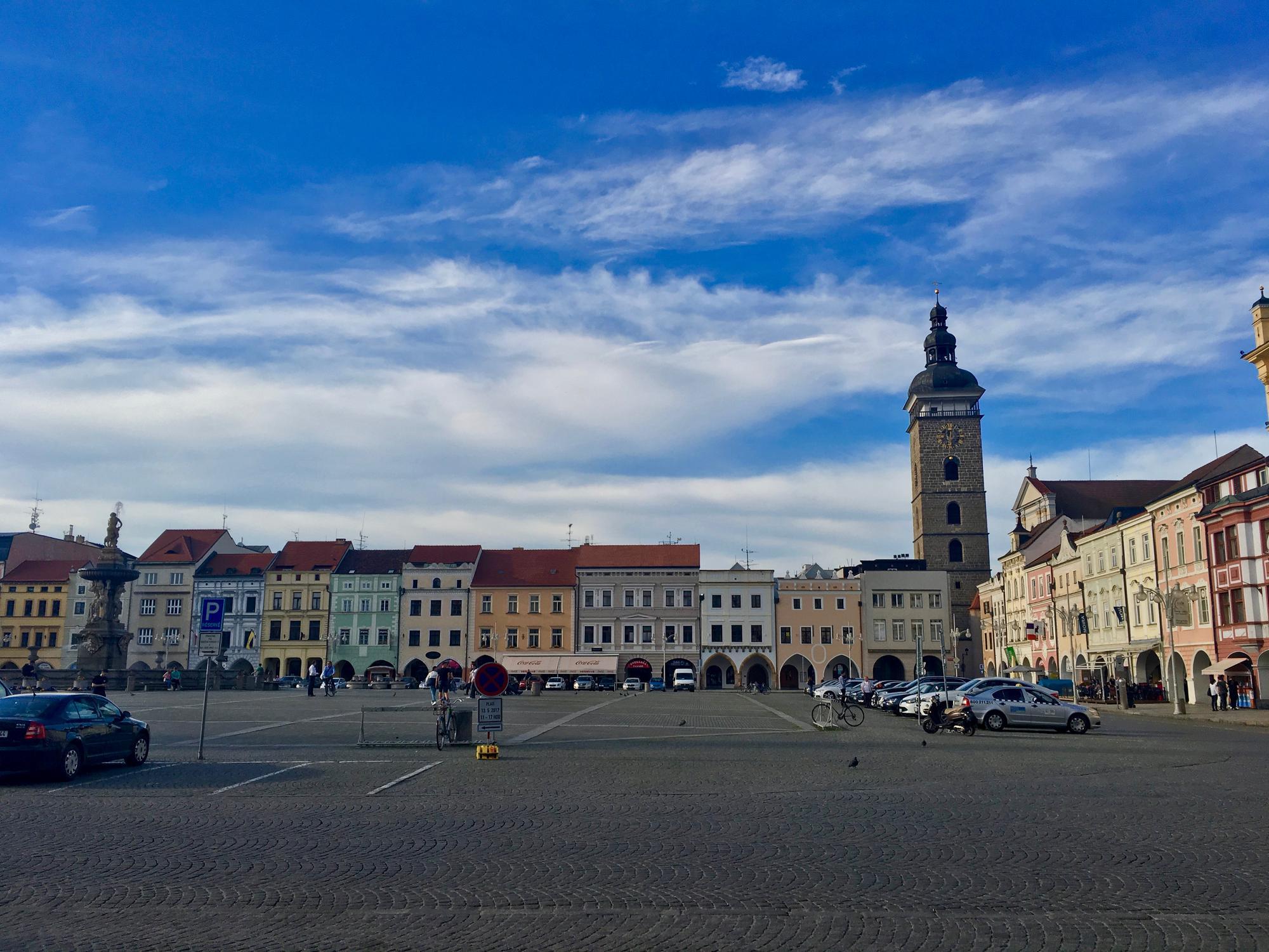 🇨🇿 Ceske Budejovice, Czech Republic, may 2017.