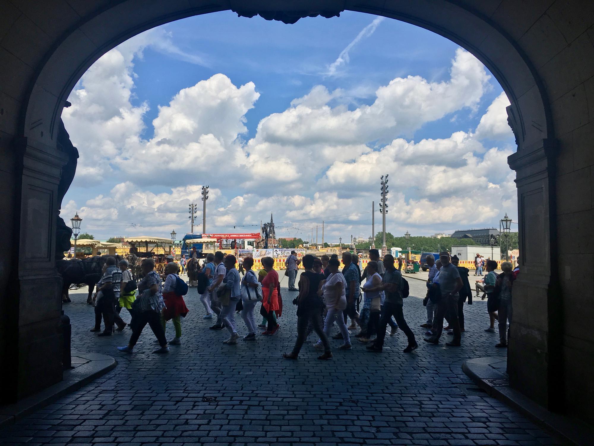 🇩🇪 Dresden, Germany, july 2017.