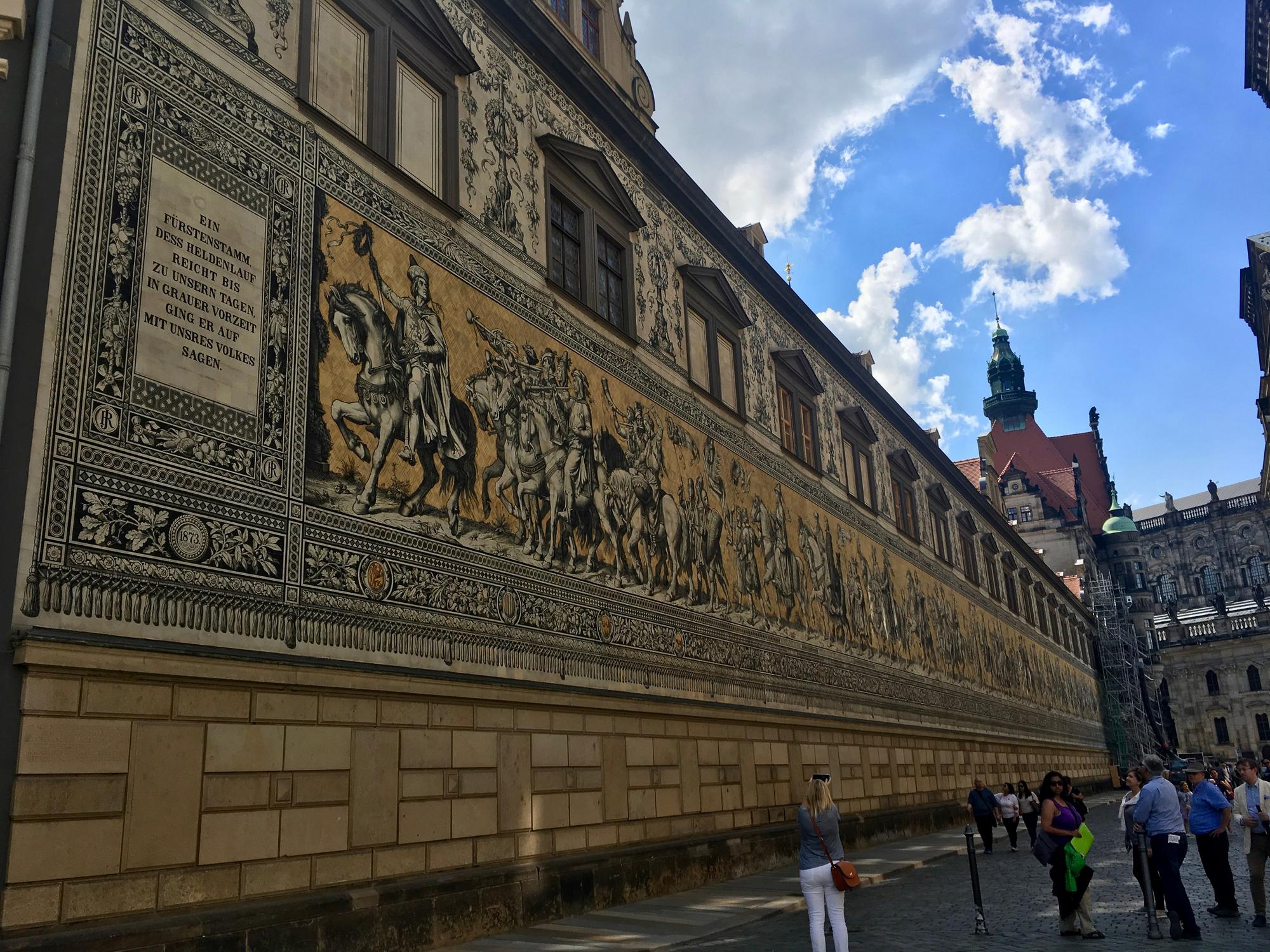🇩🇪 Дрезден, Германия, июль 2017.