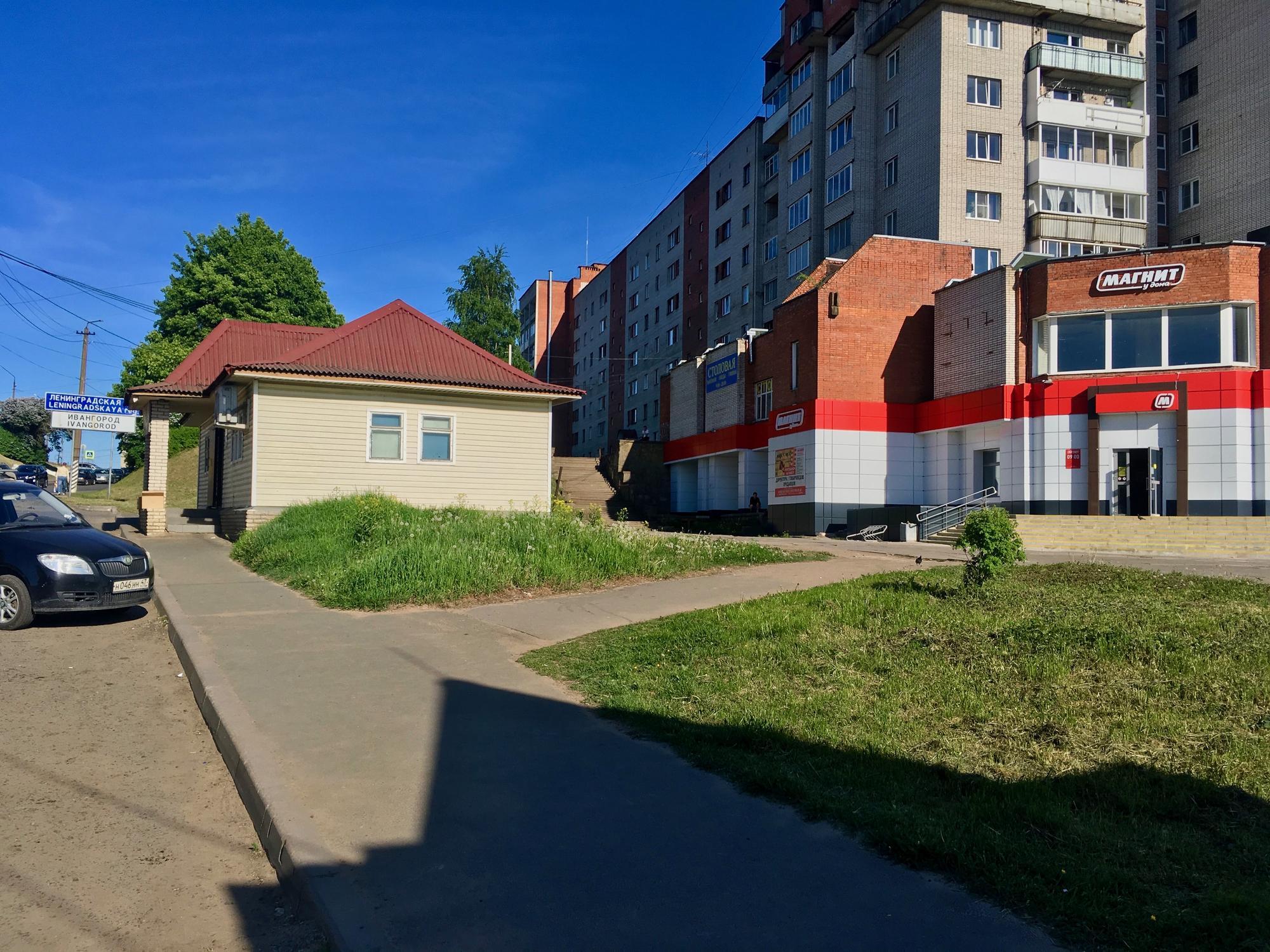 🇷🇺 Ivangorod, Russia, may 2018.