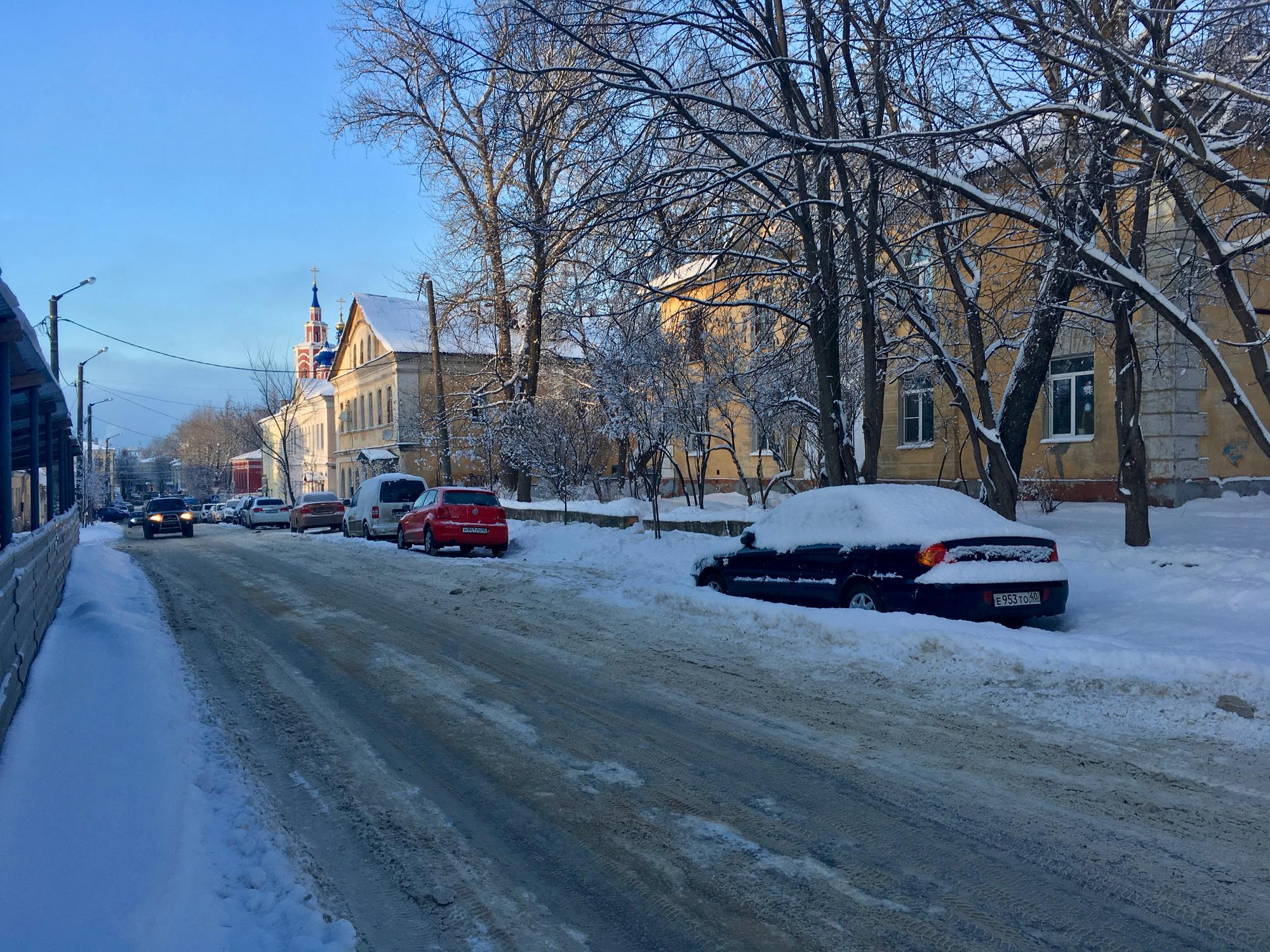 🇷🇺 Калуга, Россия, январь 2017.
