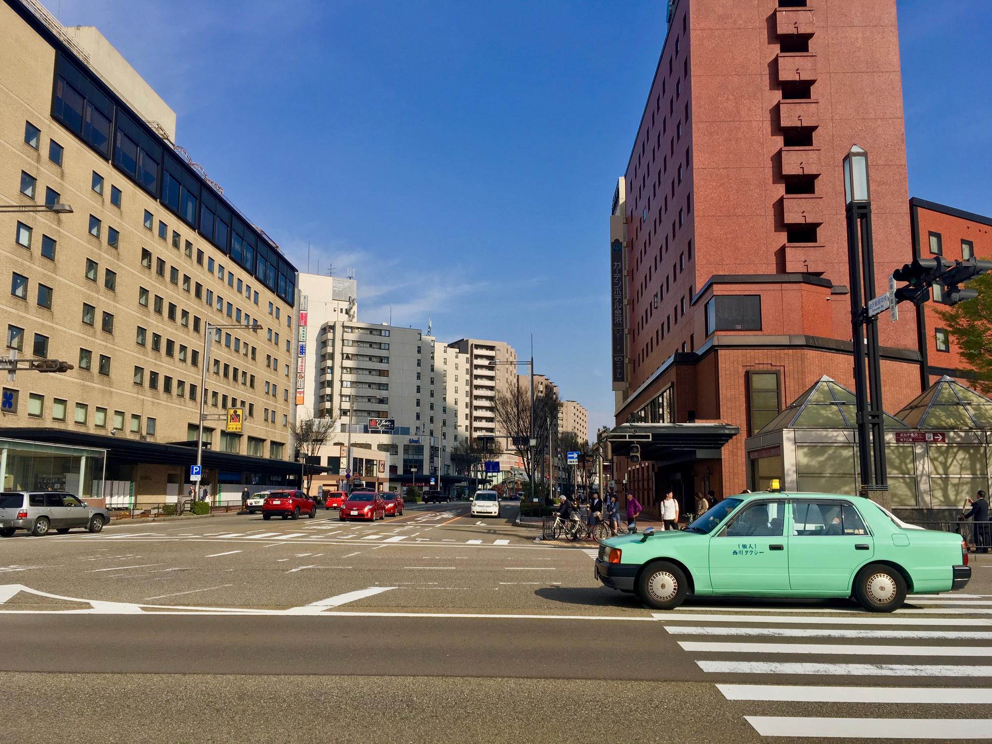 🇯🇵 Kanazawa, Japan, april 2017.