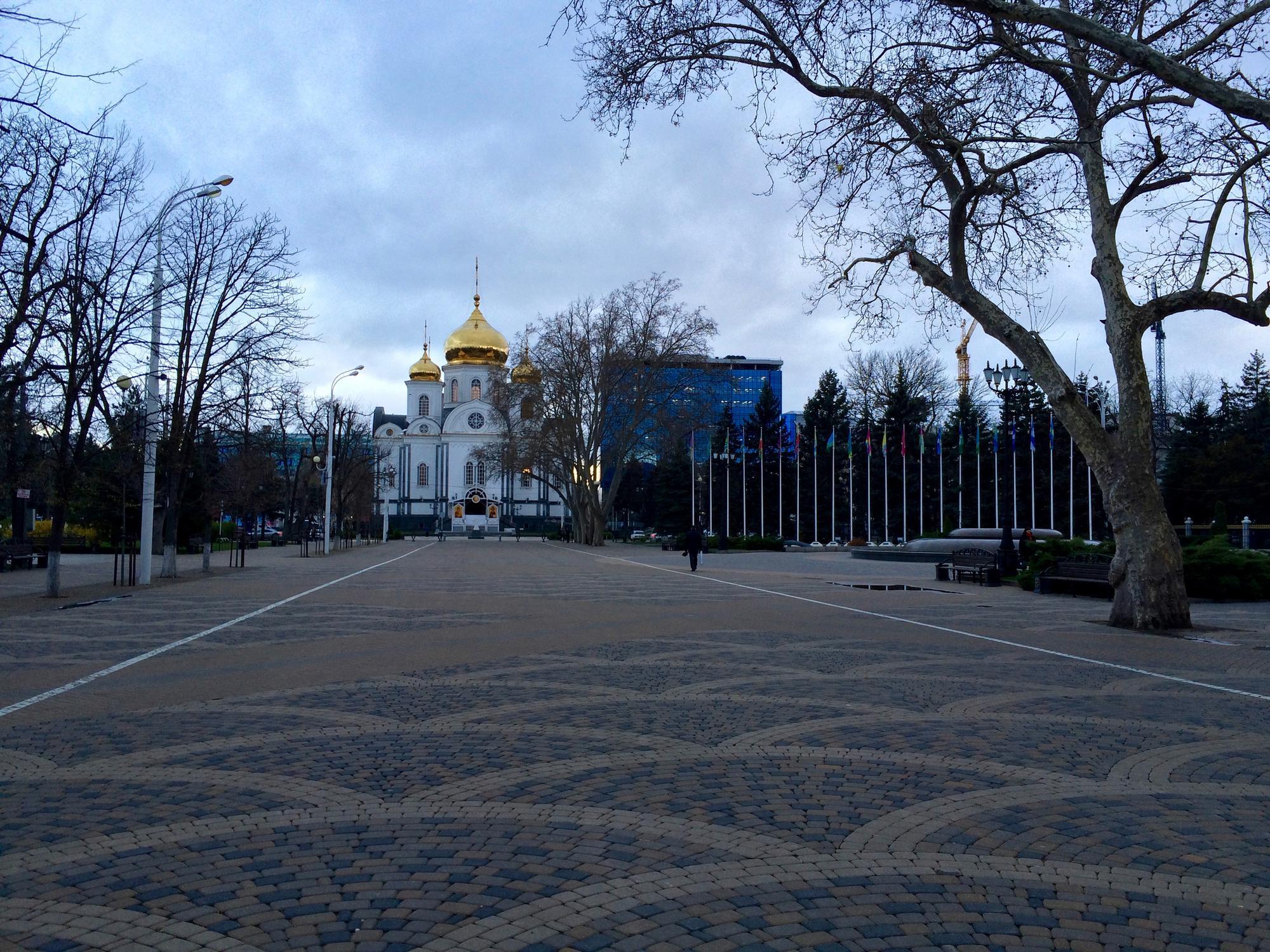 🇷🇺 Krasnodar, Russia, march 2016.