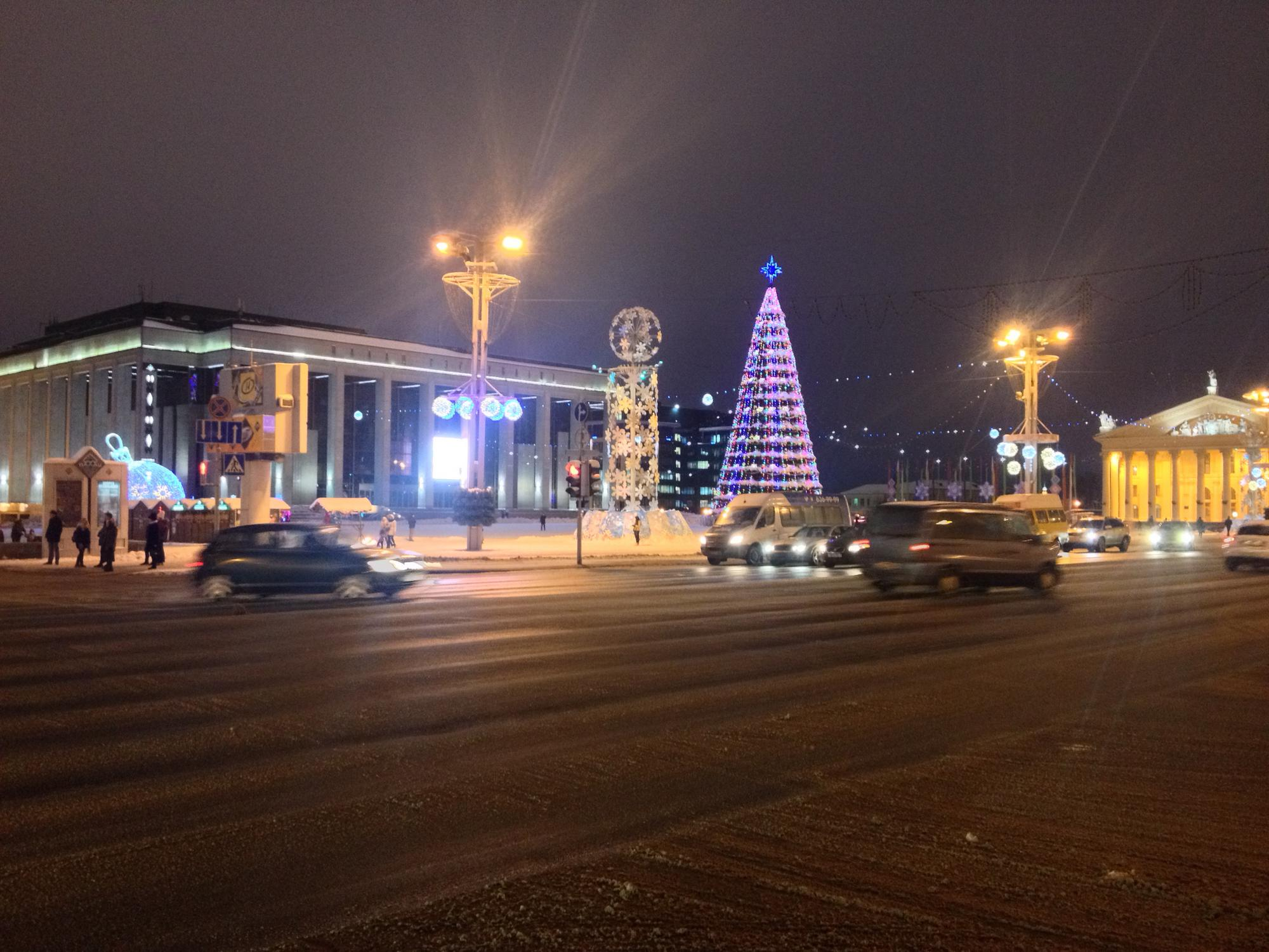 🇧🇾 Минск, Беларусь, январь 2016.