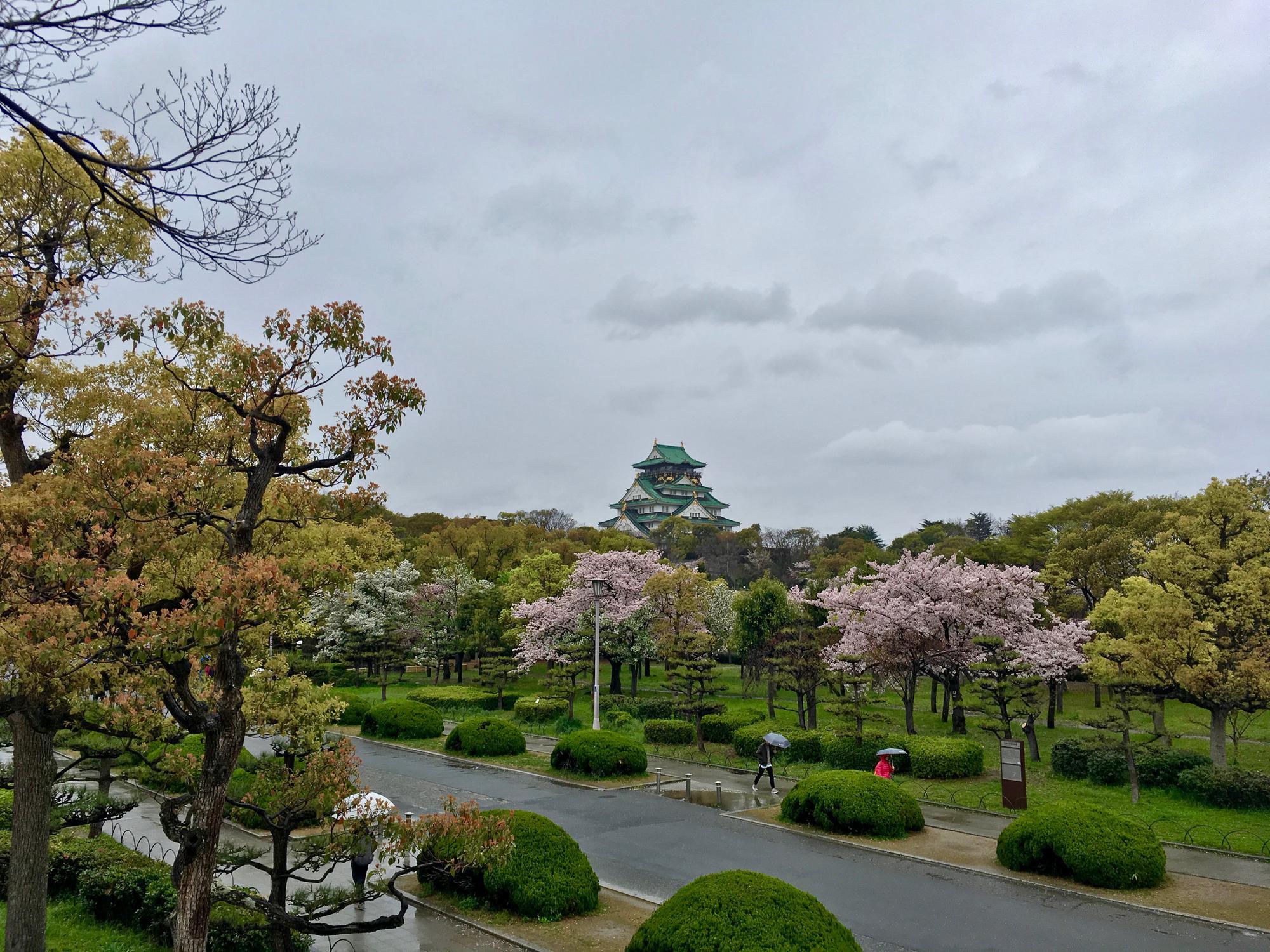 🇯🇵 Осака, Япония, апрель 2017.