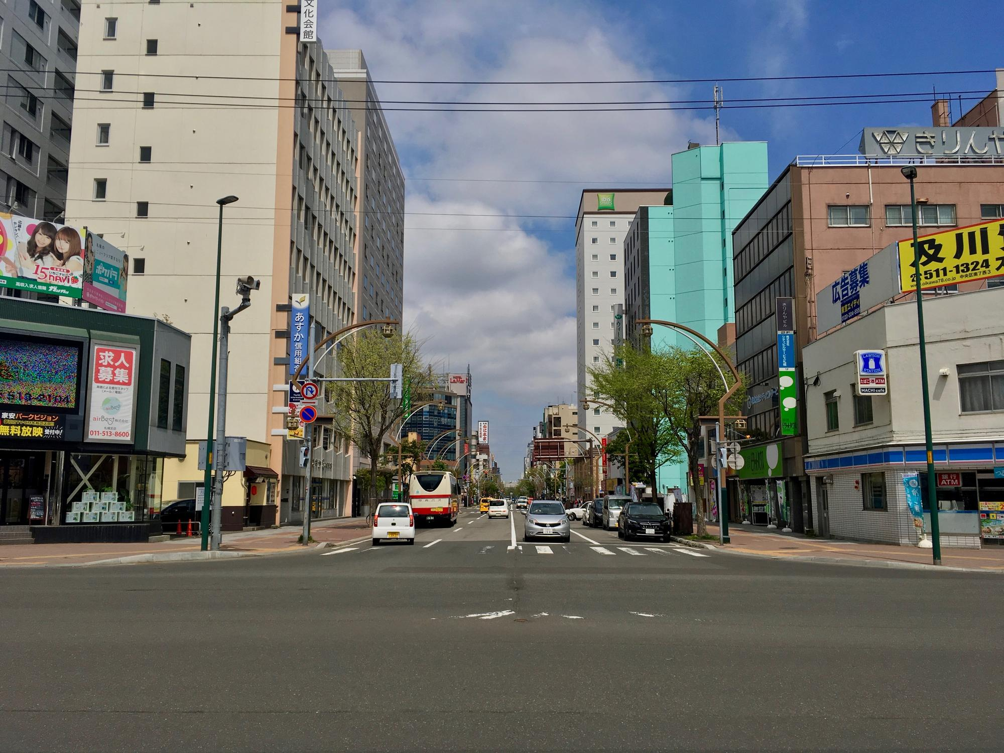 🇯🇵 Sapporo, Japan, may 2018.