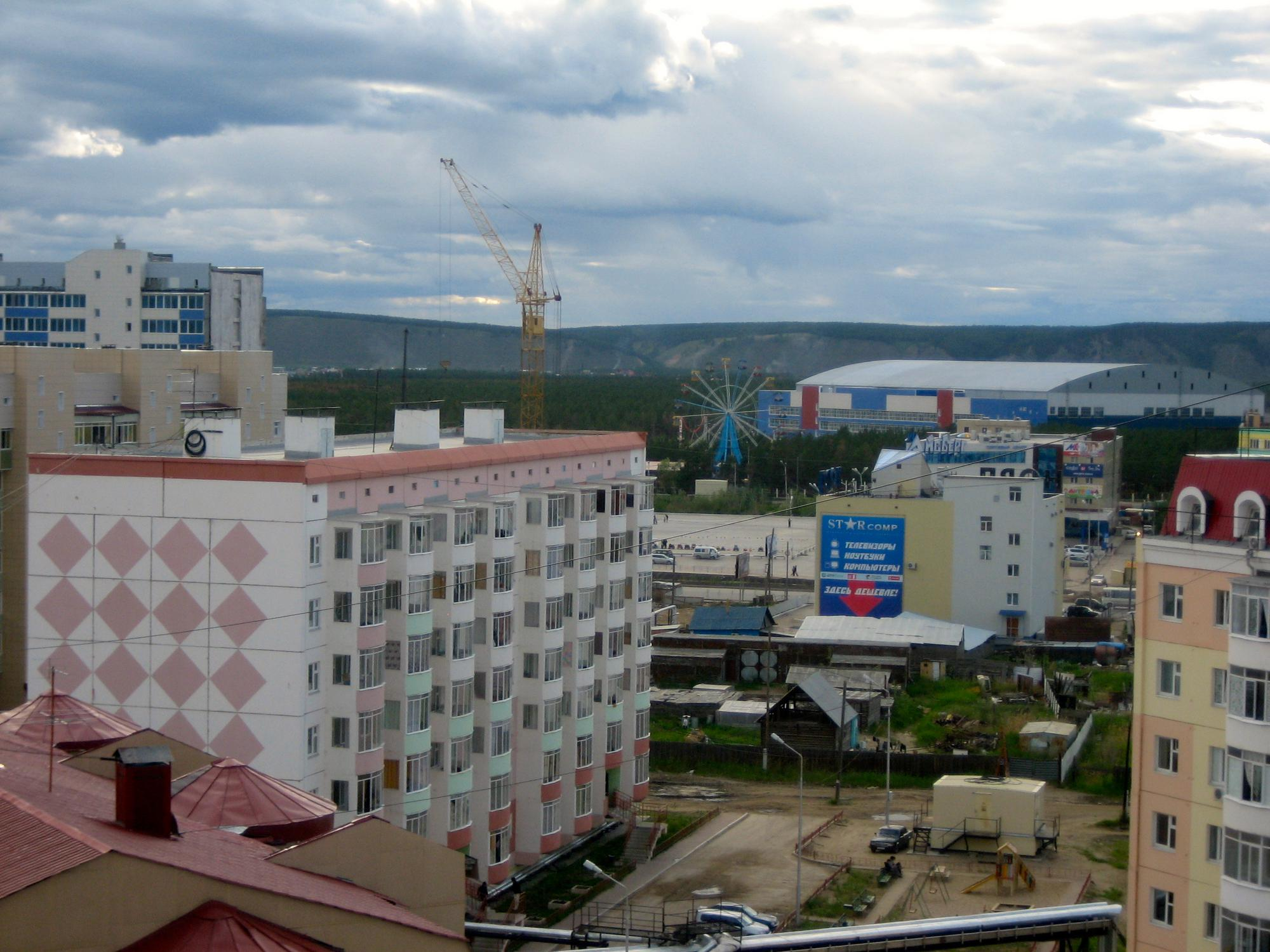 🇷🇺 Yakutsk, Russia, june 2012.