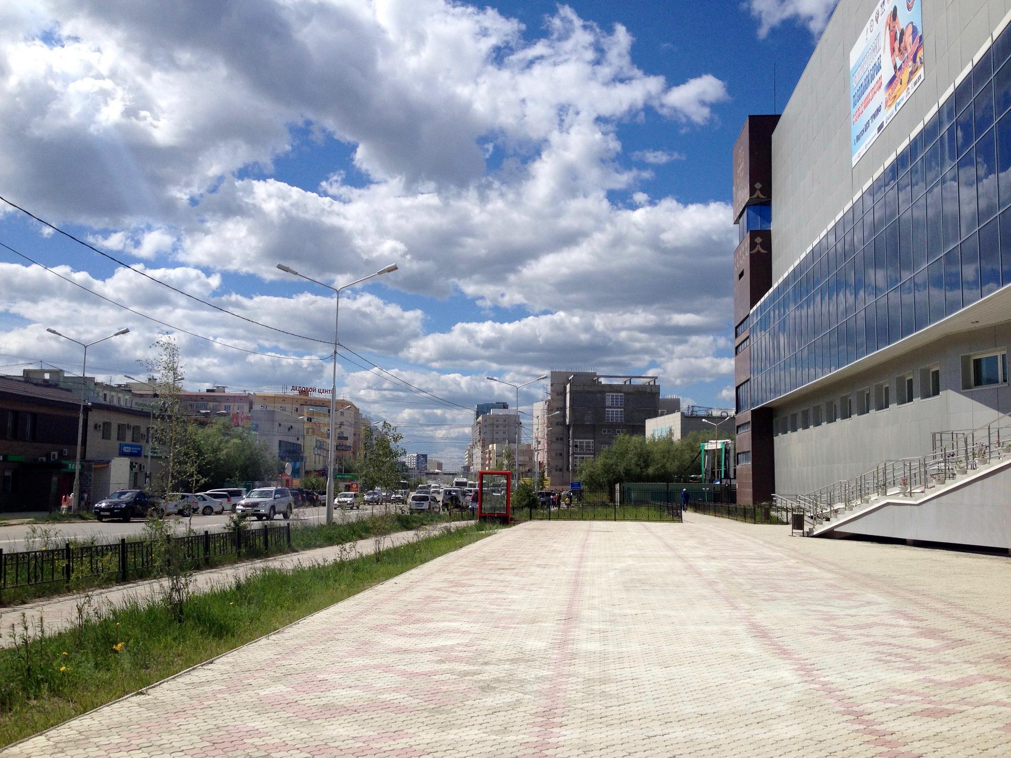 🇷🇺 Якутск, Россия, июнь 2014.